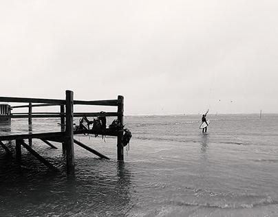 Kitesurf North Sea