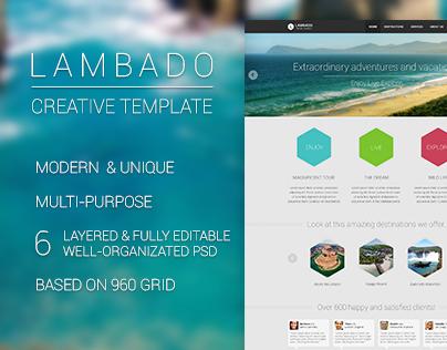 Lambado - Creative Template