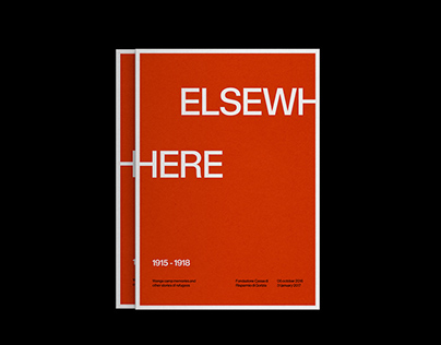 Elsewhere exhibition 1915/1918