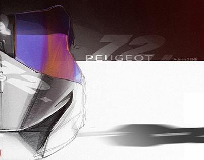 Peugeot 72h Montlhéry