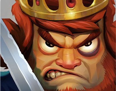 Kingdom Charge - App Icon, Storyboard and Game Trailer