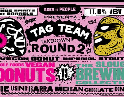 Tag Team Takedown: Round 2 - Label Design