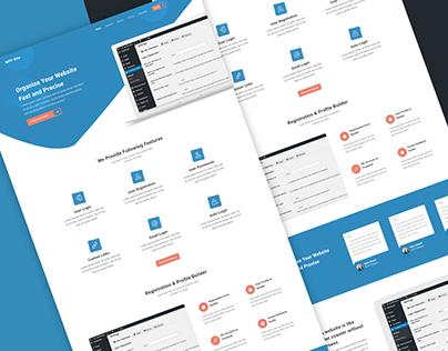 WordPress Plugin Landing Page