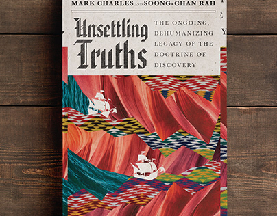 Unsettling Truths Book Cover Design