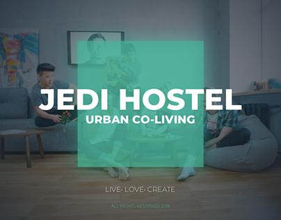 Jedi Hostel - презентация проекта Keynote