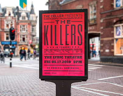The Killers | Poster Design