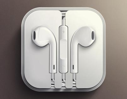 EarPods iOS icon