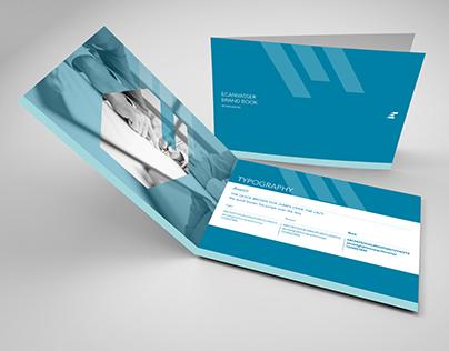 Ecanvasser corporate image - brand book + business card
