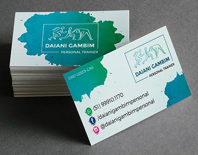 Identidade Visual - Daiani Gambim - Personal Trainer