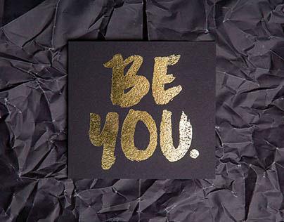 Be You | Self Understanding Book