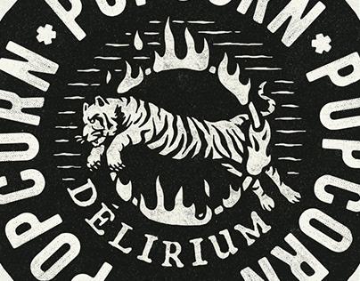 Delirium Popcorn | Branding