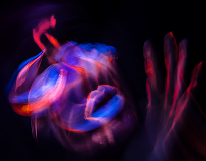 Neon in motion