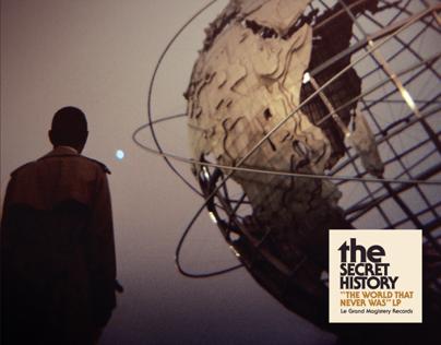 "The Secret History ""The World That Never Was"" Album Art"