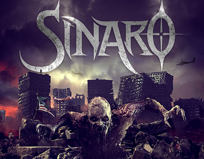 "SINARO ""Extinction"" single artwork"