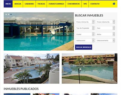 Sitio web Inmobiliario cesarjusto.com