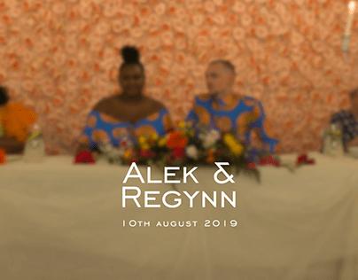 Mariage : Alek & Regynn