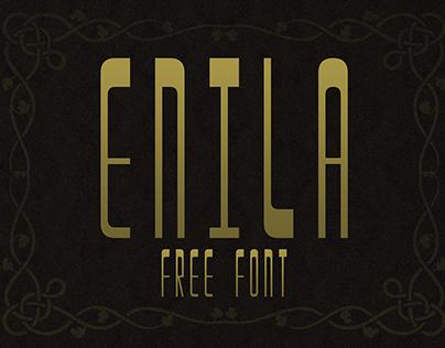 Enila - Free Font