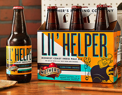 Craft Beer Packaging - Mother's Brewing Company