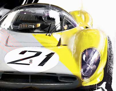 Ferrari P4 | Illustration