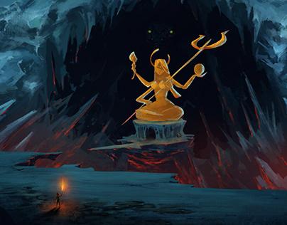 Cave Goddess
