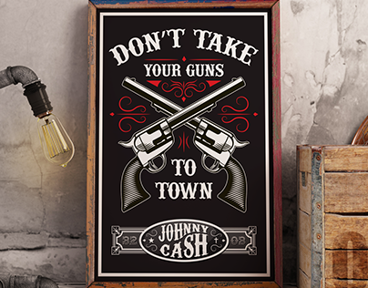 Poster Don't take your guns to town