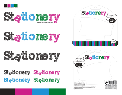 Stationery Logo & Packaging Design