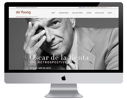 Oscar de la Renta: The Retrospective deYoung Museum