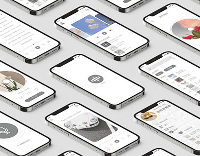 VOICE|APP UI Design