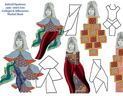 1500-1700's Iran: 'Safavid Opulence' Fashion Line Up