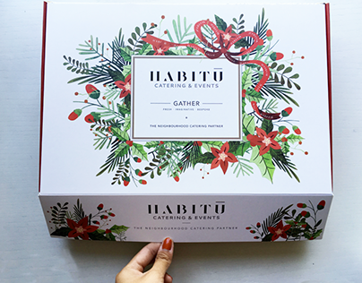 Packaging - Christmas Catering Box