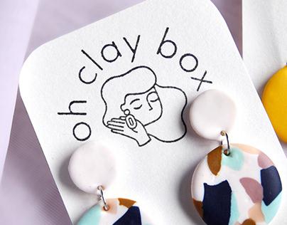 Identité visuelle - Oh Clay Box