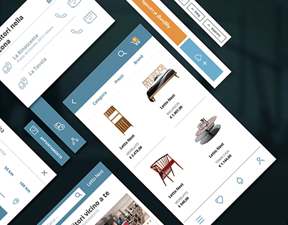 UI/UX - Furniture store design
