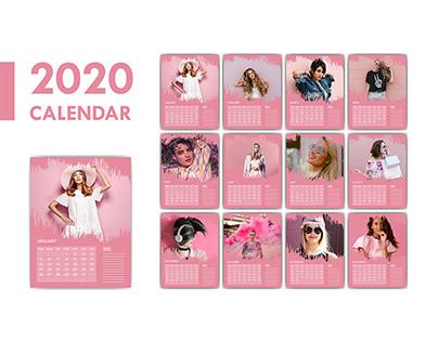 2020 Calendar Project