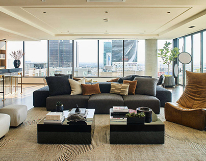 Hollywood Penthouse by Smith Firestone Associates