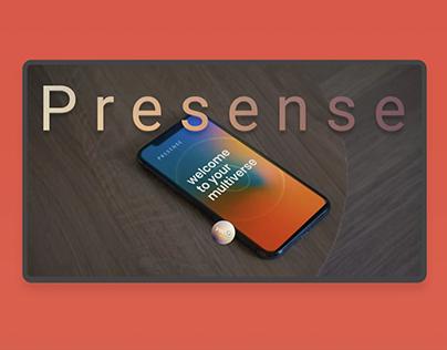 WEBSITE FOR STUDIO PRESENSE
