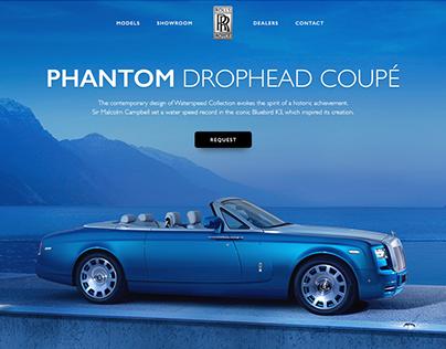 Rolls Royce Website Concept