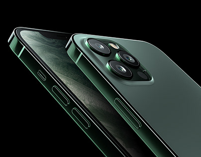 iPhone 12 Pro Product Visualization
