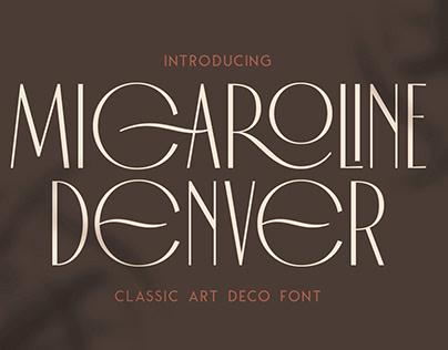 Micaroline Classic Typeface
