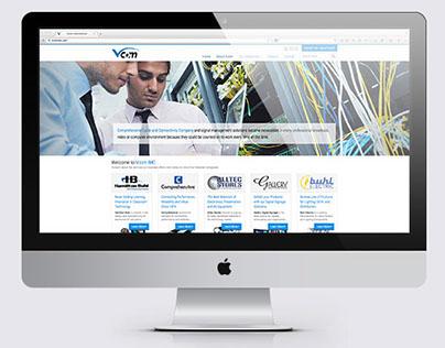 Vcom International Corporate Informational Website