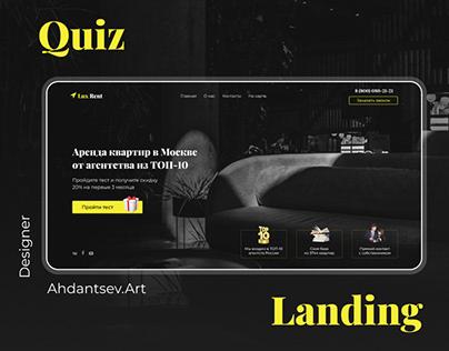 Quiz-landing page