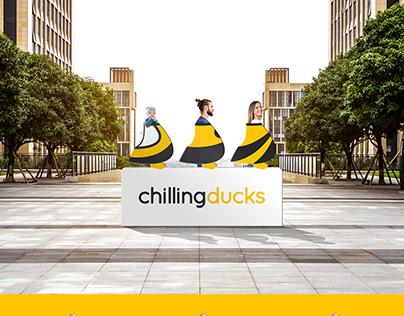 Logo Design for Chillingducks Online Service