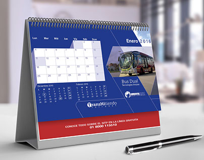 Calendario 2016 TransMitiendo