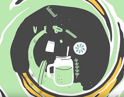Starbucks Smoothie, Motion Graphics