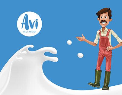Avi the Farmer - Brand Strategy, Concept, Manual