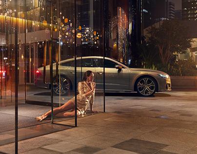 Audi Hong Kong A7 Campaign