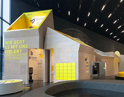 Ausstellungsgrafik für das Futurium