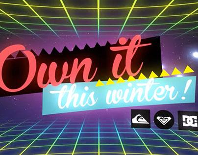Boardriders - Own it Winter Campaign