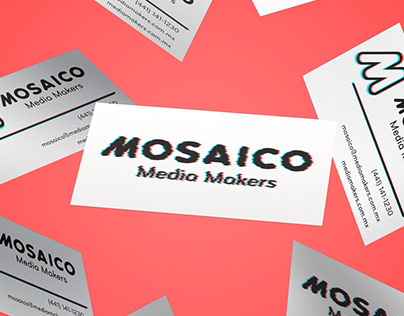 Studio Branding - Mosaico Media Makers