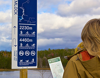Port Hawkesbury Community Trail Signage