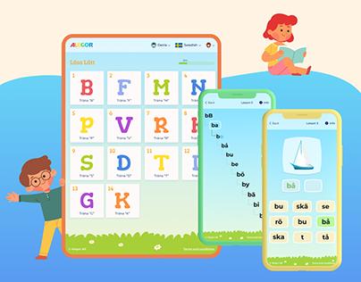 Alegor - educational & reading app for kids